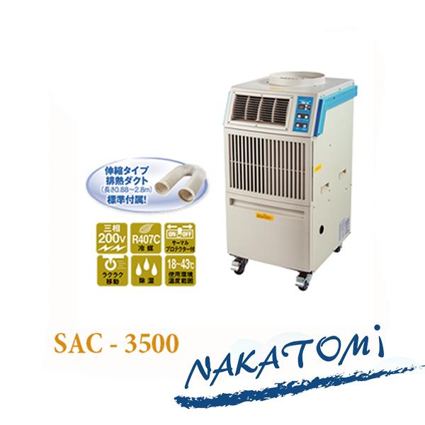 Máy lạnh di động SAC 3500 chính hãng giá rẻ chất lượng cao