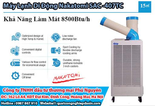 Máy lạnh Nakatomi SAC 407tc giá rẻ chính hãng chất lượng cao