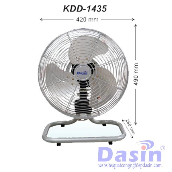 Quạt Sàn Công Nghiệp Dasin KDD-1435