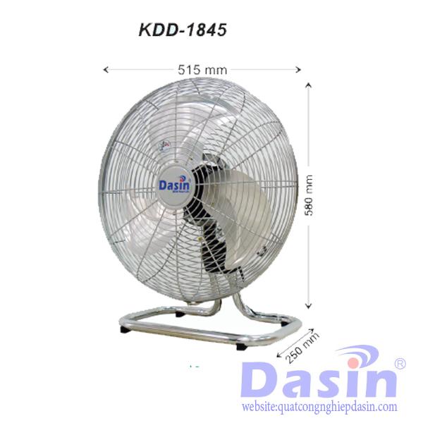 Quạt sàn công nghiệp Dasin KDD chất lượng cao