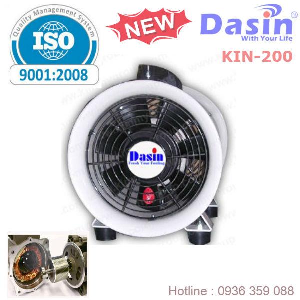 Quạt Hút Công Nghiệp Dasin KIN-200 chất lượng cao