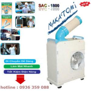 Báo Giá Máy Lạnh Di Động nakatomi SAC-1800