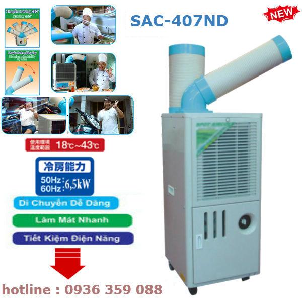 Báo Giá Máy Lạnh Di Động Nakatomi SAC-407ND