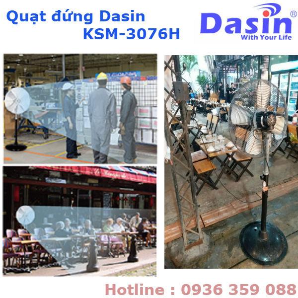 Báo Giá Quạt Đứng Công Nghiệp Dasin KSM-3076H