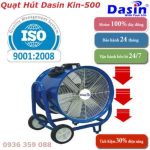 Báo Giá Quạt Hút Công Nghiệp Dasin Kin-500