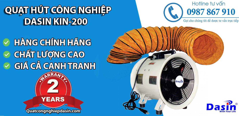 Bán quạt hút Dasin Kin 200 chính hãng giá rẻ chất lượng cao tại Hải Phòng