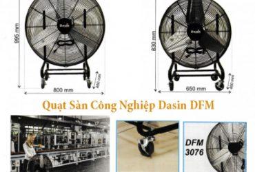 Quạt sàn công nghiệp di động Dasin