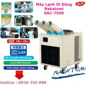 Báo Giá Máy Lạnh Di Động Nakatomi SAC-7500