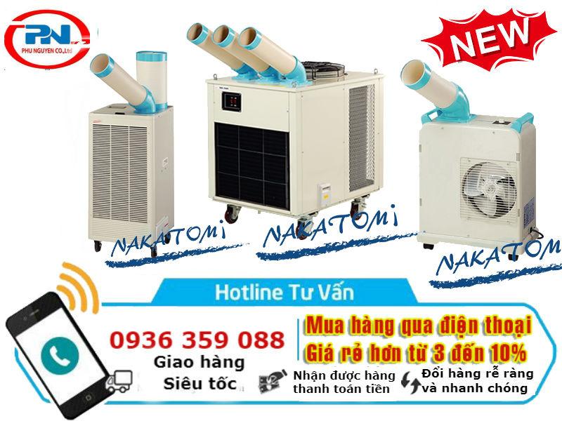 Báo Giá Máy Lạnh Di Động Nakatomi SAC-4500