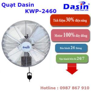 Báo Giá Quạt Treo Tường Công Nghiệp Dasin KWP-2460