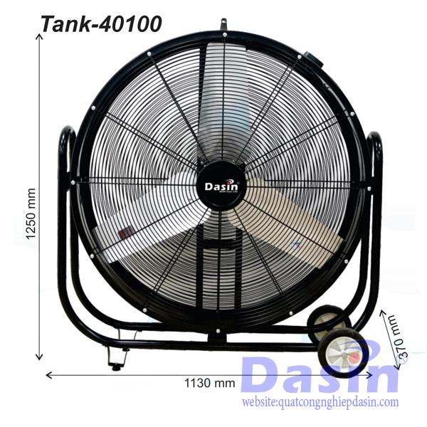 Báo Giá Quạt Di Động Công Nghiệp Dasin Tank-40100