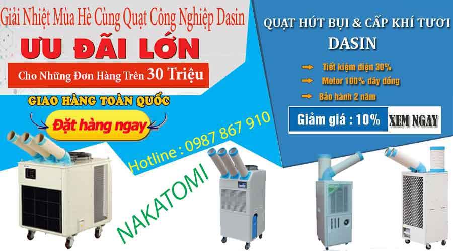 Máy lạnh di động nakatomi chất lượng cao giá cả hấp dẫn