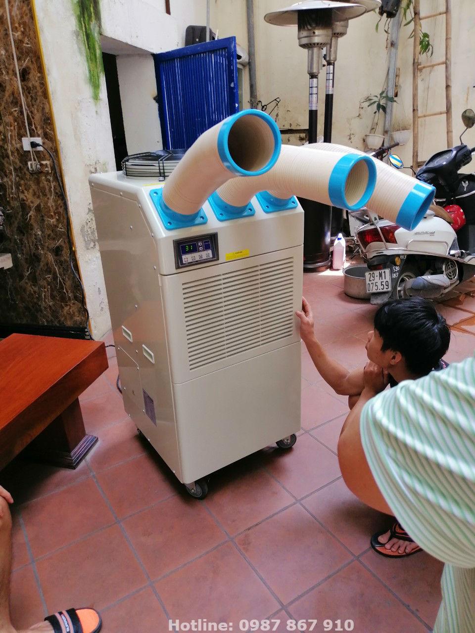 Một trong những mã sản phẩm máy lạnh di động chính hãng chất lượng của Nakatomi