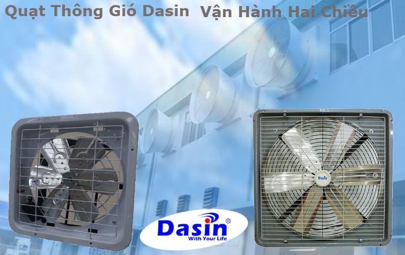 Quạt thông gió vận hành 2 chiều chất lượng cao an toàn trong khi sử dụng
