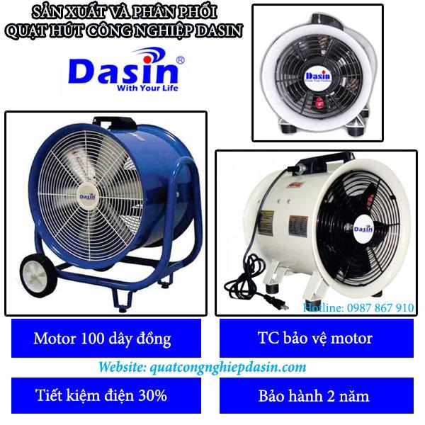 Quạt hút công nghiệp Dasin công suất lớn chất lượng cao
