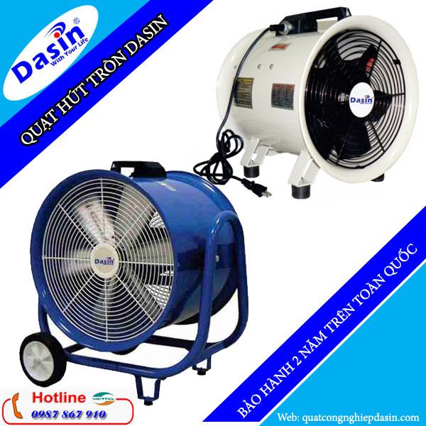 Quạt hút tròn công nghiệp Dasin chính hãng giá rẻ chất lượng cao