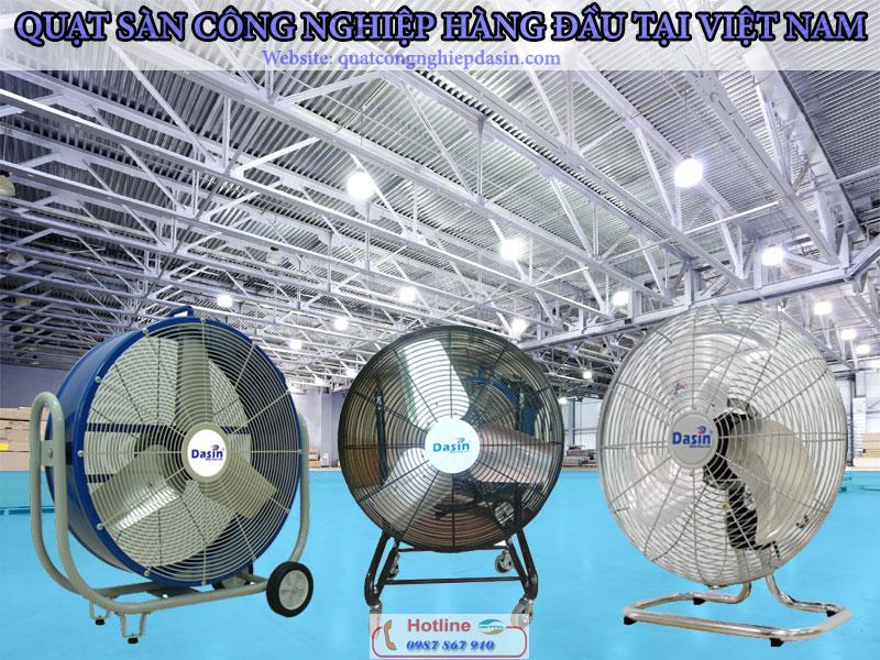 Quạt sàn công nghiệp giá rẻ chính hãng chất lượng hàng đầu Việt Nam