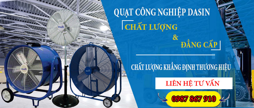 Phân phối quạt công nghiệp chính hãng giá rẻ tại Hưng Yên