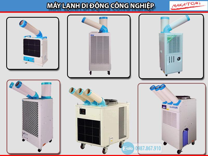 Các mã máy lạnh di động Nakatomi nhập khẩu chính hãng giá rẻ chất lượng cao