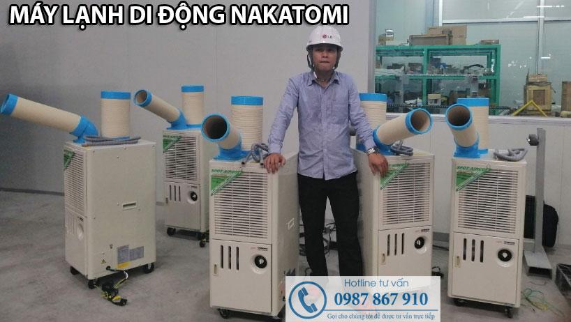Cung cấp máy lạnh di động cho tập đoàn LG tại Hải Phòng