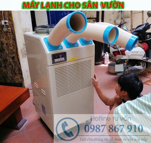 Cung cấp máy lạnh di động sử dụng cho sân vườn tại Hà Nam