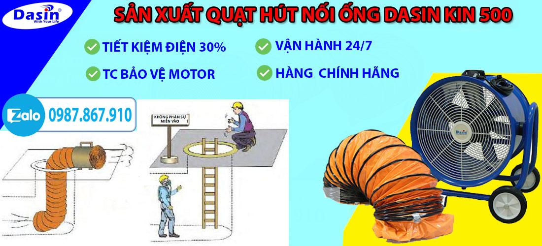 Ưu điểm của quạt hút công nghiệp Kin 500 chính hãng, giá rẻ