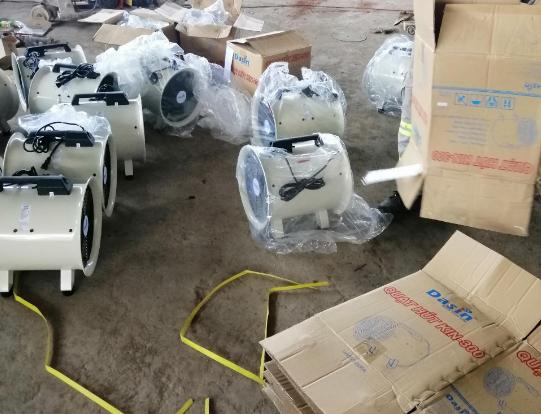 Đập hộp quạt hút Kin 300 chính hãng giá rẻ chất lượng tại Hải Dương