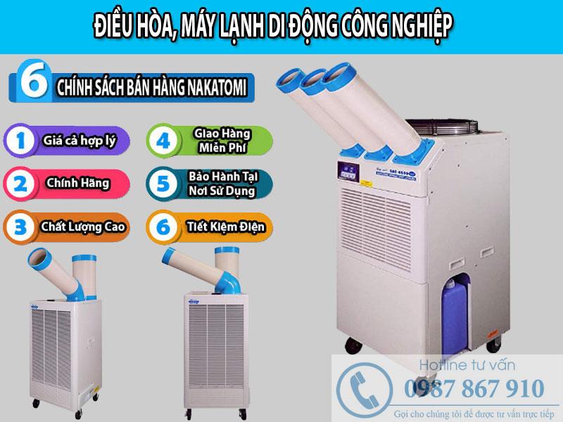 Đơn vị cung cấp điều hòa, máy lạnh di động uy tín tại Bắc Ninh
