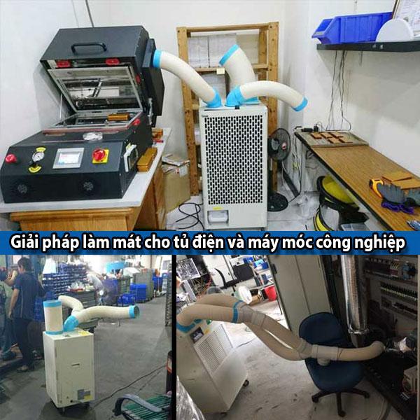 Ứng dụng của máy lạnh di động Nakatomi giá rẻ