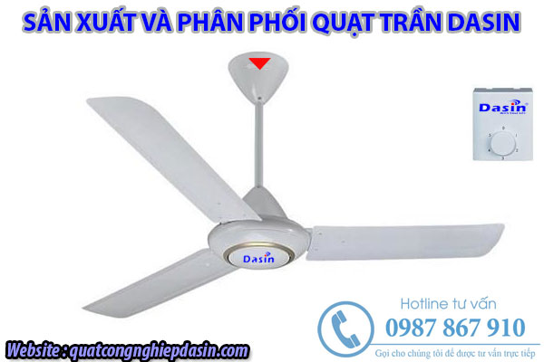 Quạt trần Dasin DEB 6016 chính hãng giá rẻ chất lượng cao