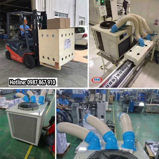 Ứng dụng của máy lạnh di động nakatomi chính hãng giá rẻ