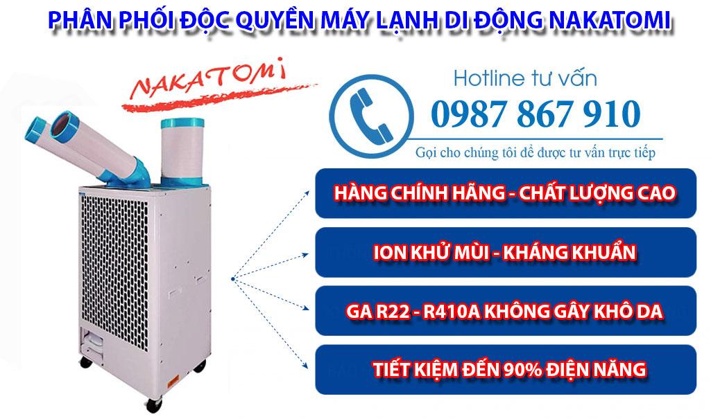 Máy lạnh di động 2 vòi SAC 4500 chính hãng giá rẻ
