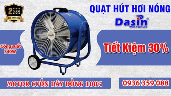 Bán quạt hút Dasin Kin 500 chính hãng giá rẻ chất lượng cao tại Hải Phòng