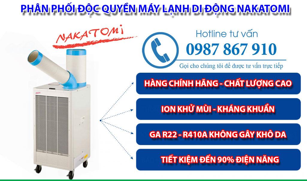 Máy Lạnh Nakatomi SAC-407TC Giá Rẻ Nhất Năm 2020