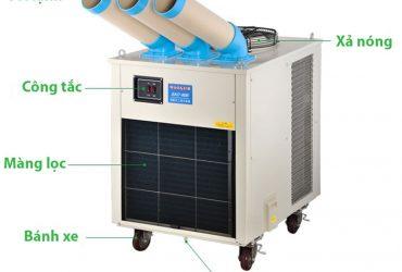 Thiết kế của máy lạnh di động giá rẻ Nakatomi
