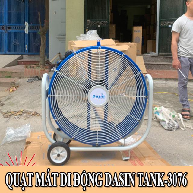 Quạt di động công nghiệp Dasin Tank 3076