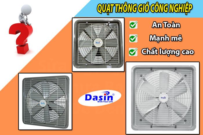 Quạt thông gió công nghiệp hai chiều Dasin