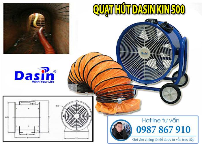 Quạt hút Dasin Kin 500