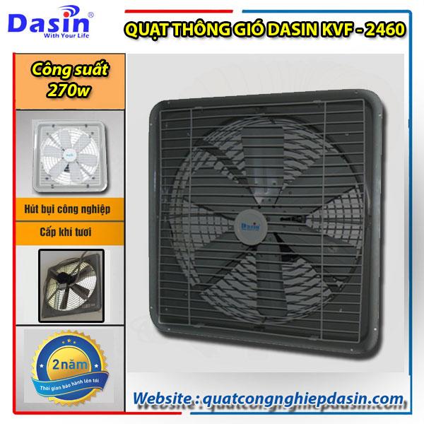 Quạt thông gió Dasin kvf 2460 giá rẻ