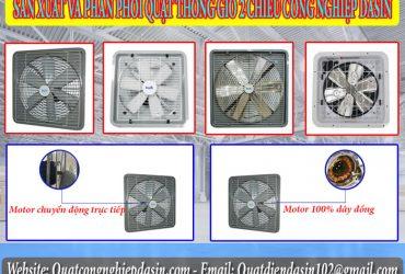 Quạt thông gió công nghiệp Dasin