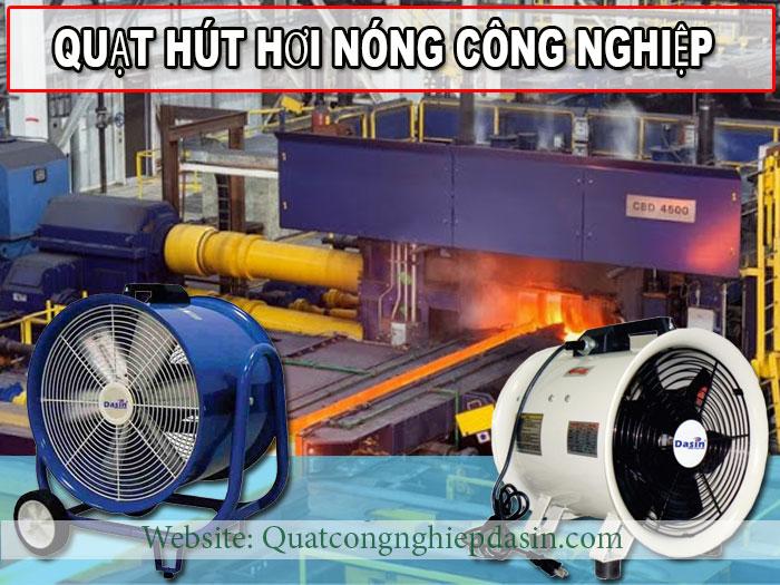 quạt hút hơi nóng công nghiệp