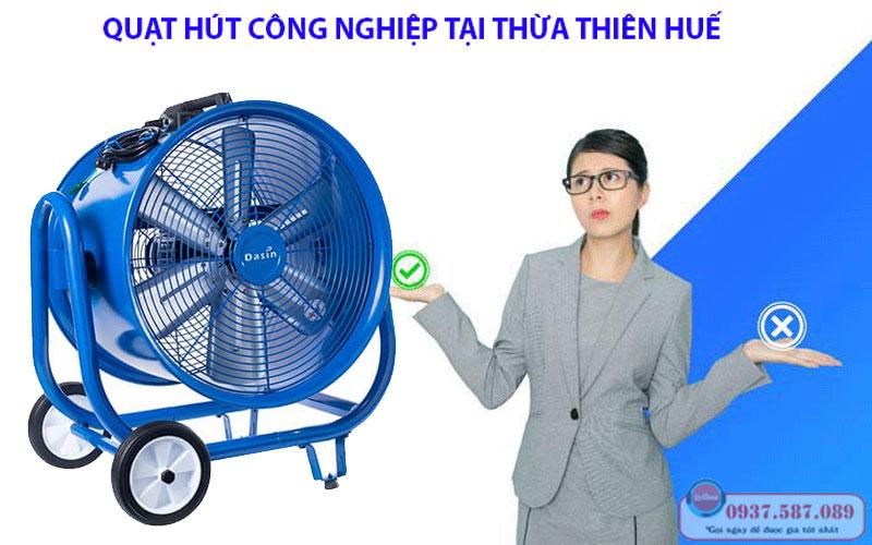 Quạt hút công nghiệp tại Thừa Thiên Huế