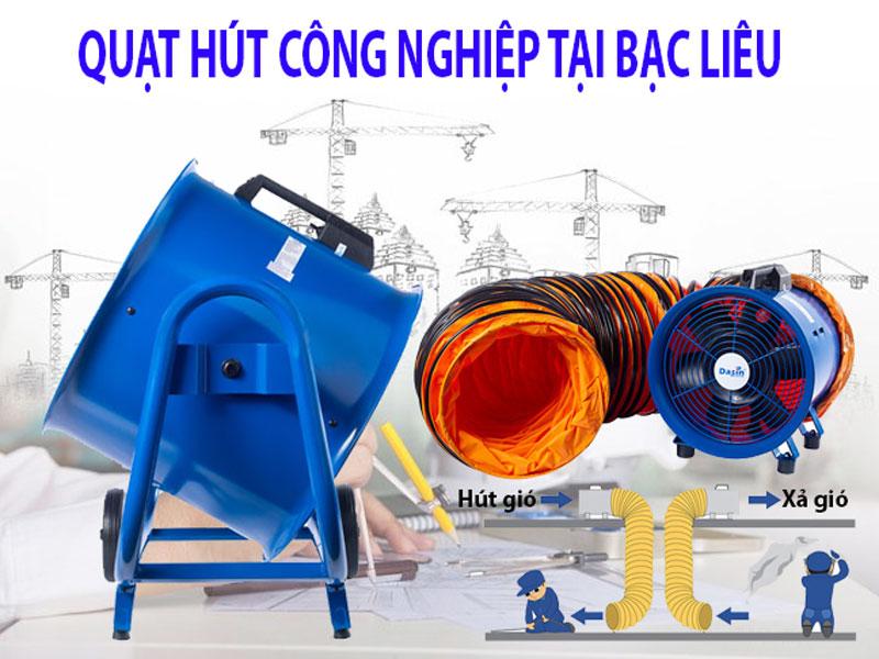quạt hút công nghiệp tại Bạc Liêu